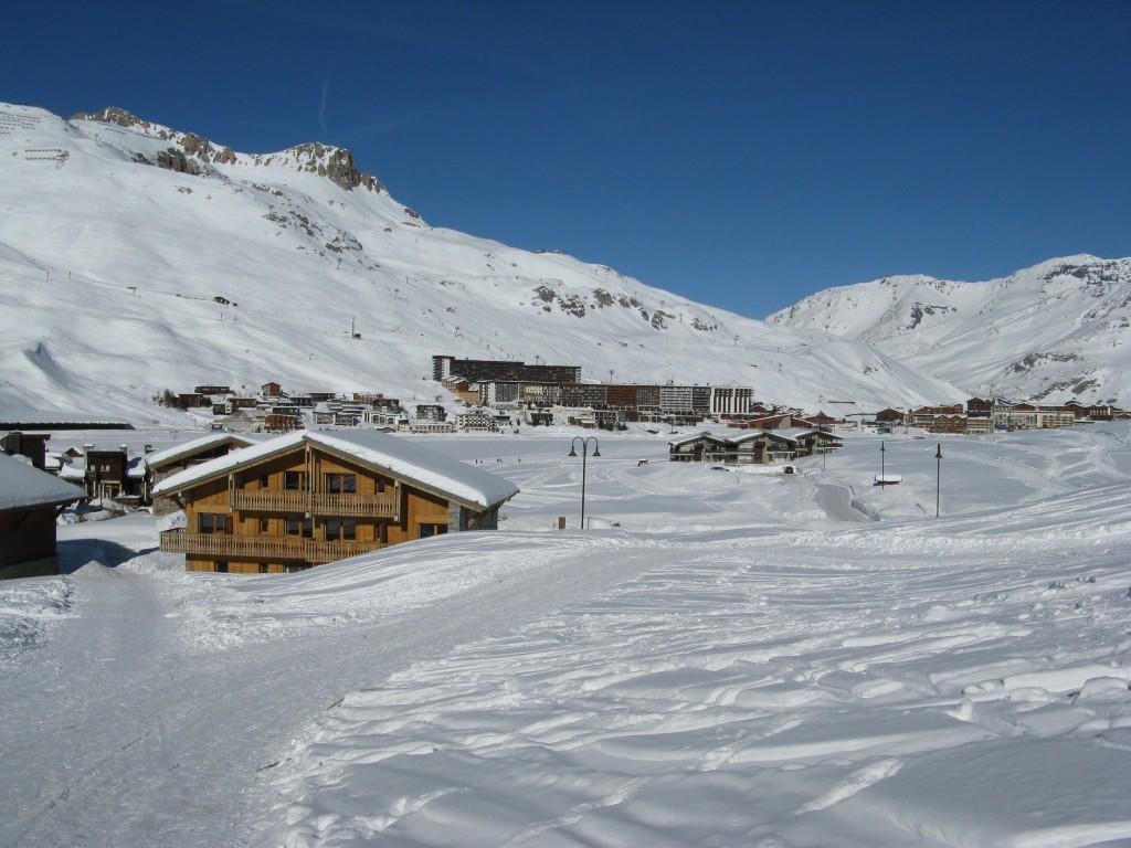 Zimní dovolená a lyžování v Tignes
