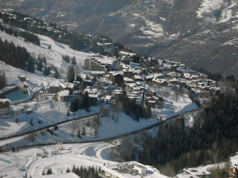 Zimní dovolená a lyžování ve Francii - Courchevel