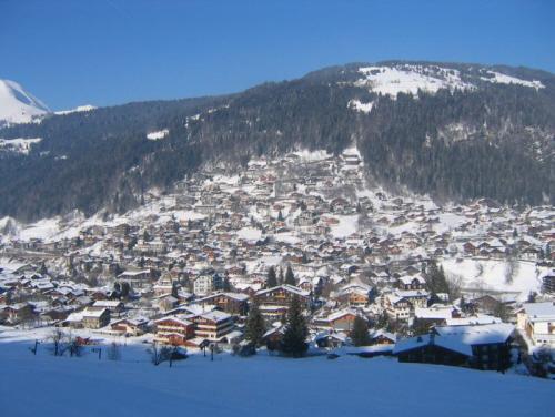 Zimní dovolená a lyžování v Les Gets (Portes du Soleil, Francie)