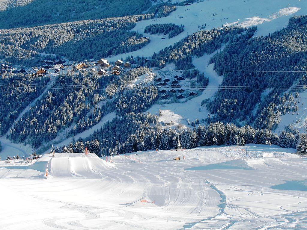 Zimní dovolená a lyžování v Méribel
