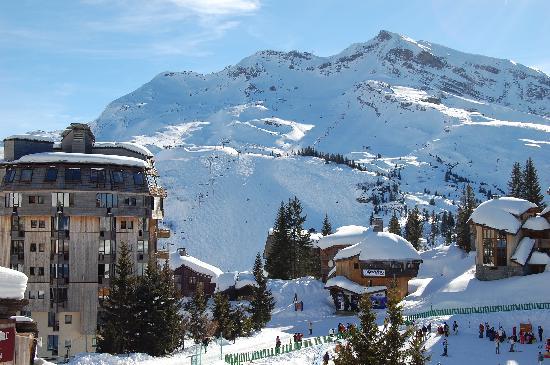 Zimní dovolená a lyžování v Avoriaz (Francie, Portes du Soleil)