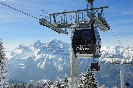 Lyžování a zimní dovolená v Les Carroz (Grand Massif, Francie)
