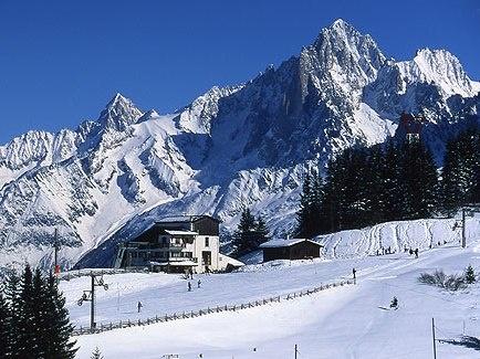 Lyžování a zimní dovolená v Saint Nicolas de Véroce (Francie. Mont Blanc)