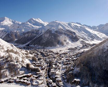 Lyžování a zimní dovolená ve Val d'Isère (Espace Killy, Francie)