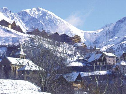 Lyžování a zimní dovolená ve Vaujany (Francie, Grand Domaine)