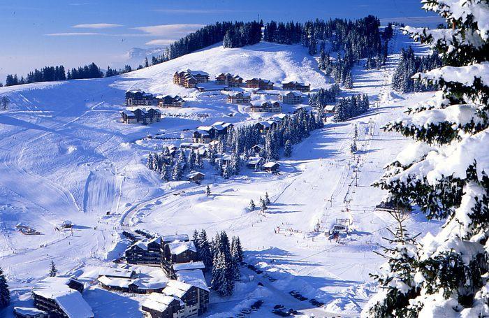 Savojské Alpy - zimní dovolená a lyžování