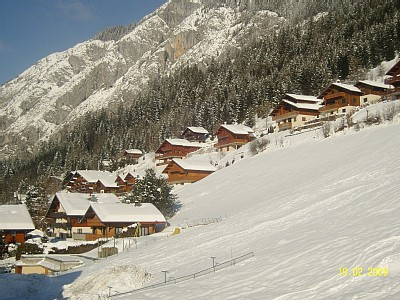 Zimní dovolená a lyžování v La Chapelle d'Abondance (Portes du Soleil, Francie)