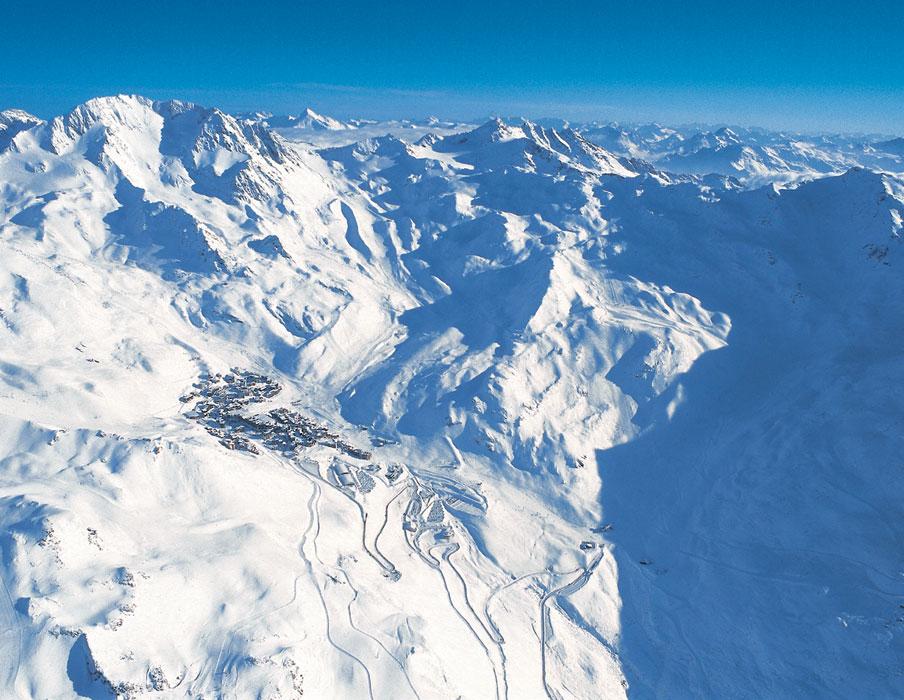 Zimní dovolená a lyžování ve Val Thorens (Francie, Tři údolí)