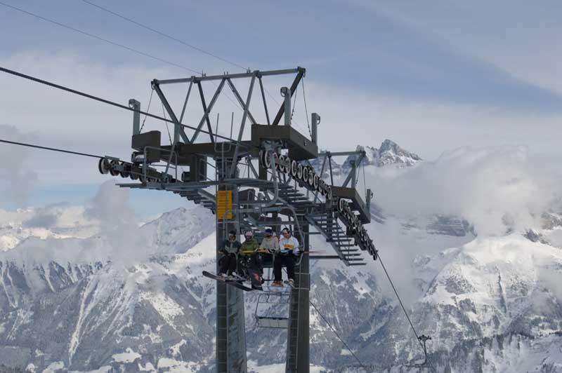 Zimní dovolená a lyžování v Châtel (Francie, Portes du Soleil)