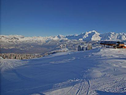 Lyžování a zimní dovolená v Combloux (Francie, Évasion Mont-Blanc)