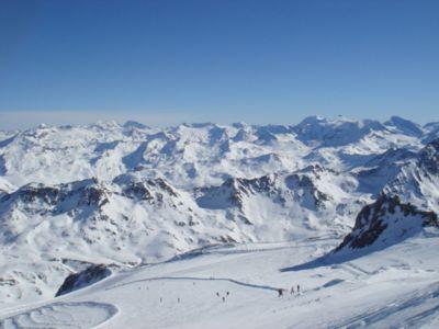 Lyžování a zimní dovolená v Espace Killy (Val d'Isère, Tignes, Francie)