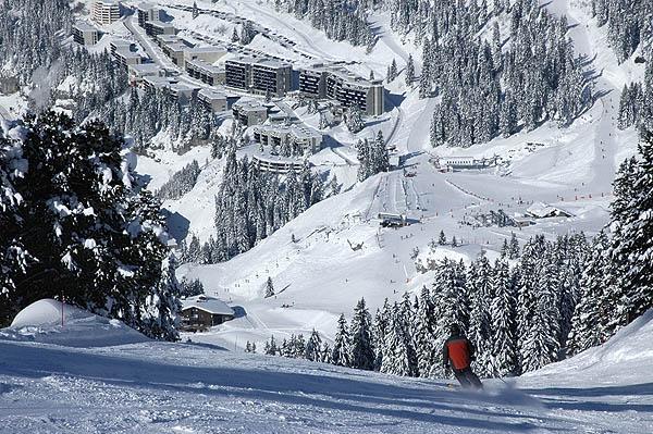 Lyžování a zimní dovolená ve Flaine (Francie, Grand Massif)