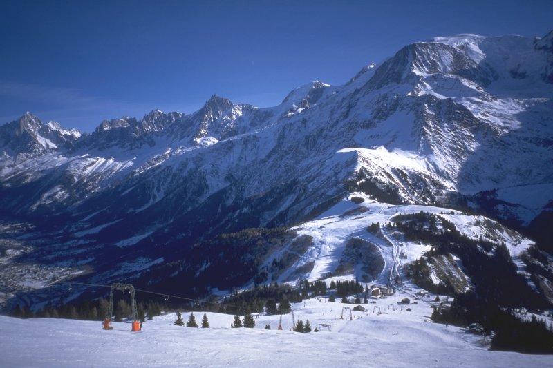 Lyžování a zimní dovolená v Grand Massif (Haute Savoie, Francie)