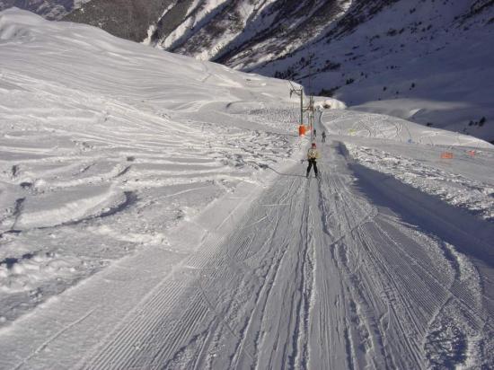 Lyžování a zimní dovolená v Saint Colomban des Villards (Les Sybelles, Francie)