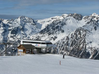 Lyžování a zimní dovolená v Villard Reculas (Francie, Grandes Rousses)