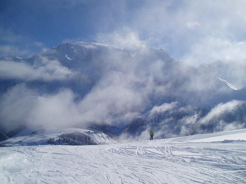 Lyžování a zimní dovolená v Évasion Mont-Blanc (Francie)