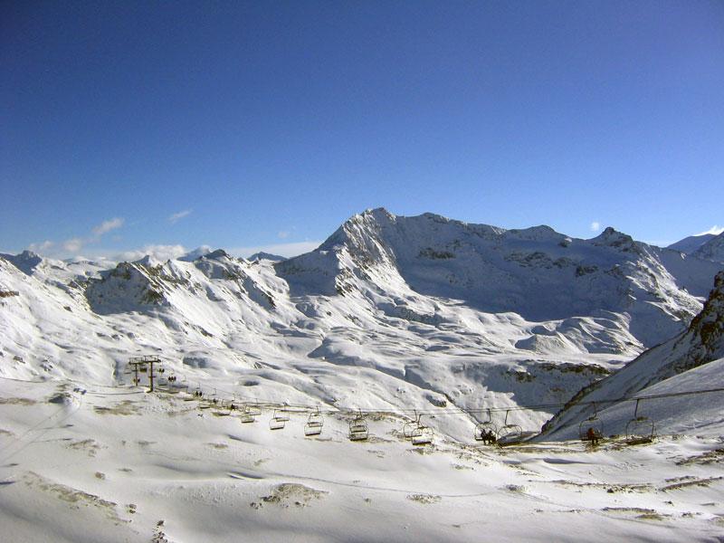Počasí v Tignes a Val d'Isere