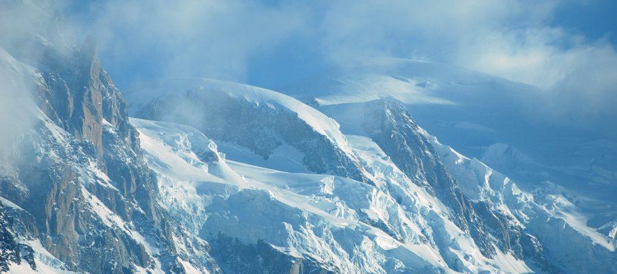 Chamonix Massif Mont Blanc Glacier