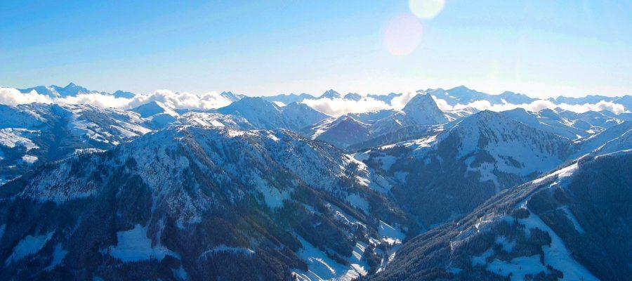 Kitzb%C%BChler Alpen Winter Mountains