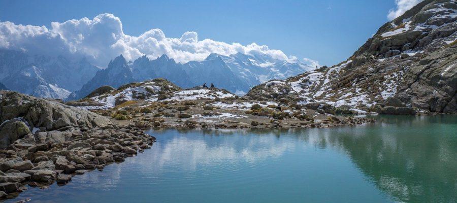 Lake Mountain White Mount Chamonix