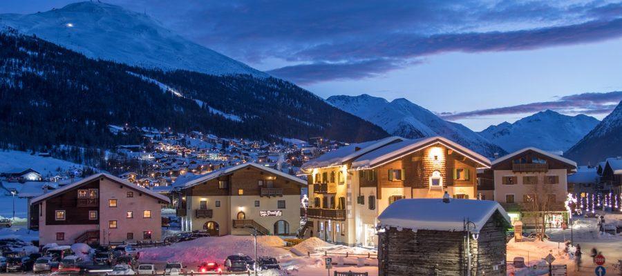 Livigno Italy Mountains Snow