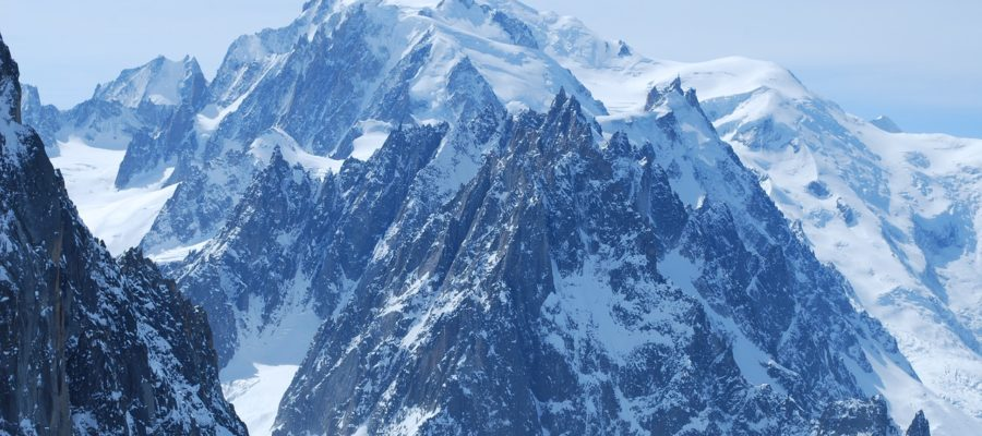 Mont Blanc Mountain Chamonix Needle