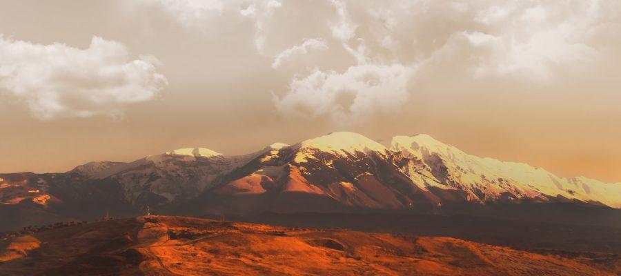 Mountain Landscape Mountains Snow